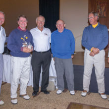 Left to right: Bob Eder, Harry Clausen, Dennis Marchand, Tom Pryde, Chuck Kelsey and John Borchert