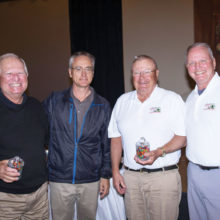 Left to right: Steve Bender, Mike Jahaske, Mark Connell and Bob Eder