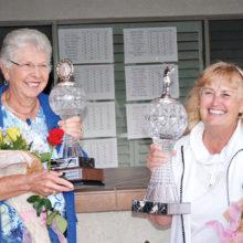 Bonnie Barker and Phyllis Sarrels