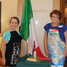 Vicki Tessitore and Italian Bistro Night Chairman Nancy Klawitter