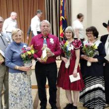 Left to right: Don Williams, Rebecca Williams, Randy Regnier, Sue Regnier, Bonnie Kraber and Larry Kraber