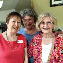 Sandi Newberry, Karen Hustad and Sharon Dunn