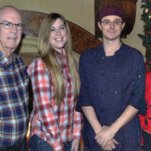 Dick Barr, Taylor Donaldson (HOA 2), Chris Smoler (HOA 1) and Patricia Tarner