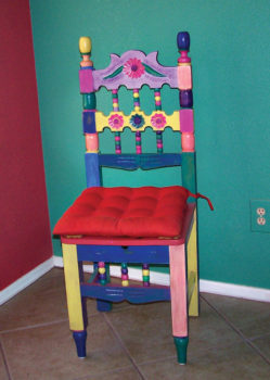Claudia's first chair