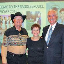 Performing at the Showcase were Bob Stiens, Ann Marie Alvir and Chris Borden.