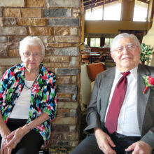 Lois and Palmer Ruschke have moved to Beatitudes.