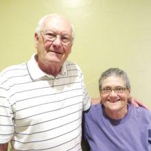 Gary Zellenger and Dr. Barbara Starrett