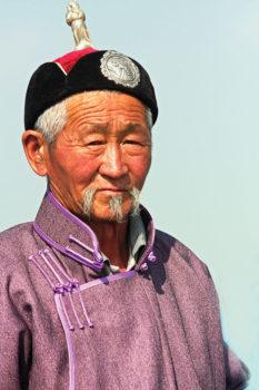 Naadam Festival participant, Mongolia