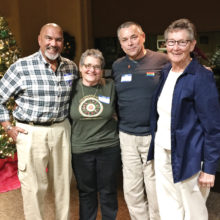 2017 GLAAS officers: Orville Bell, Barbara Starrett, Bo Nanna, Sandy Wagoner
