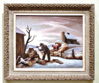 The Woodchopper, by Thomas Hart Benton
