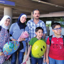 Basic items are needed for newly arriving refugee families.