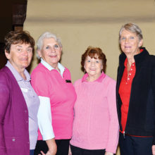 Winners SaddleBrooke Course, left to right: Hedy Gryszan, Barbara Brown, Nancy Claffey and Judie Knapp