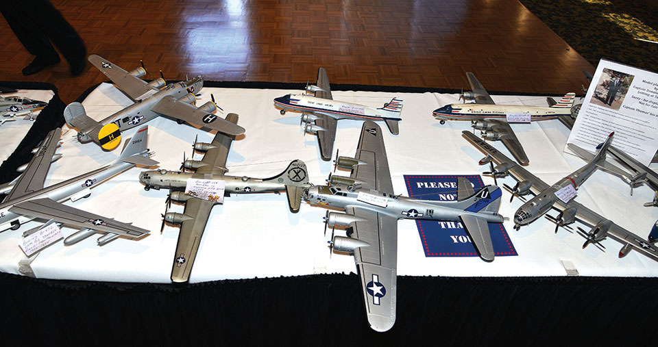Captain Donald Thompson, a resident of SaddleBrooke, has made hundreds of model airplanes.