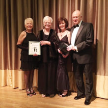 Claudia Booth, Ruth Birkhead, Ann Kurtz and Tom Kurtz
