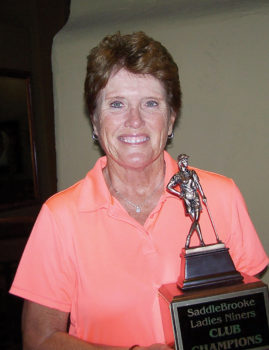 Our 2017 Club Champion Cinda Haugsby