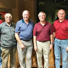The Star Party team: Don Cain, Dan Williams, Sam Sollenberger, Richard Spitzer, Sam Miller and Ken Lund