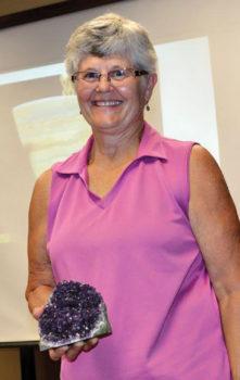 Nature Club speaker Gloria Quigg; photo by Ed Skaff