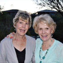 Jan Kreis, Karen Wendlandt; missing Ann Running - Blue Herons