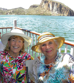 Arlene DesJardins and Barbara Brown; photo by Arlene DesJardins