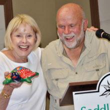 Karen Skaff and Jim Cloer; photo by Ed Skaff