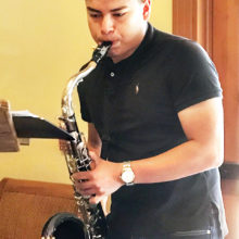 SaddleBrooke Sunrise offered Sammy a stipend to buy a new saxophone and he rewarded members with a delightful concert of melodies.