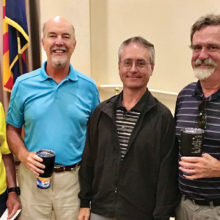 Left to right: David Cohen, Dan Linegar, Mike Jahaske, Bill Grow
