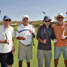 Roy Robson, Steve Quamma, Demetre Venetiou and David Loendorf enjoy the day!