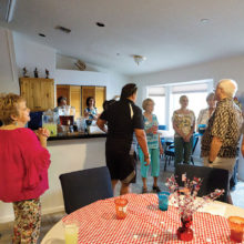 Games were played and wonderful food was shared.
