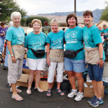 Join our fundraiser volunteers.