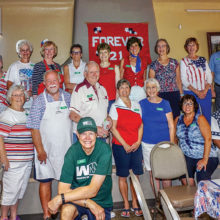 These volunteers were a key part of making Unit 21 Fourth of July Pancake Breakfast a huge success!