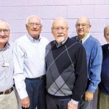 Men's Breakfasts committee members
