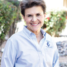 Karyn Garvin, professional dog trainer and behavior specialist, to speak October 19 at the HOA1 Clubhouse. She believes in an integrated approach to dog training and has given more than 40,000 private lessons in the Phoenix and Tucson area.