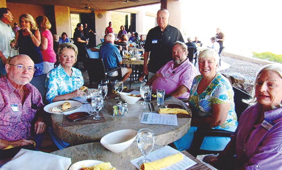 Bob Sommer, Carol Sommer, Jon Chase, Ray Nichols, Hilda Nichols and Karen Bird