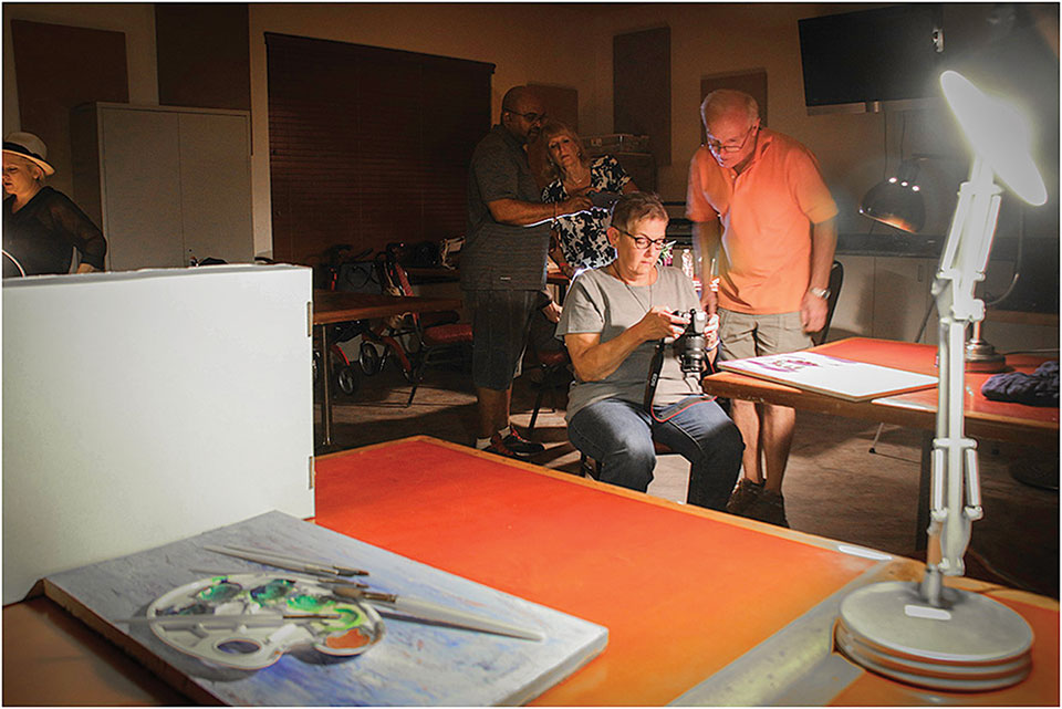 Photographers at work; photo by Barbara Wilder