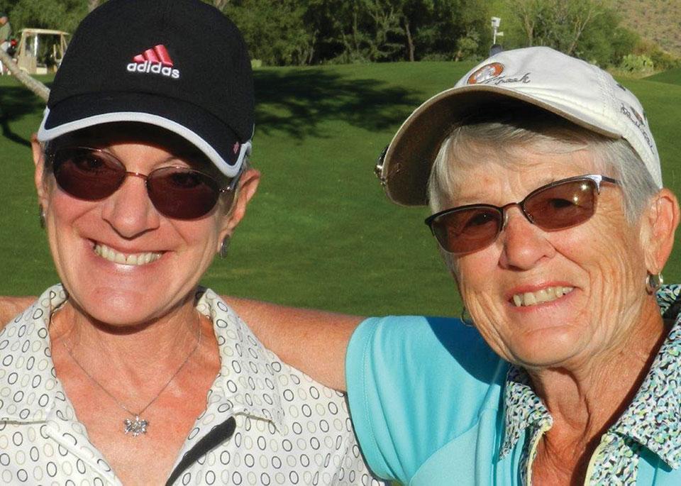 Charlene Grimm and Lynn Pike