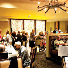 Life is a cabaret at the Preserve, inside or out! Photo courtesy of Tony DiGiorgio.