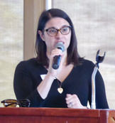 Laury Bianco from Emerge spoke to our association luncheon.