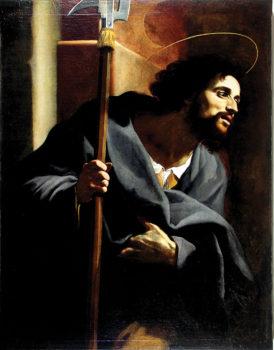 Saint Jude, by Giovanni Baglioni.