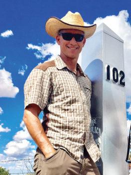 Matthew Nelson, executive director of the Arizona Trail Association. Photo courtesy of Arizona Trail Association.