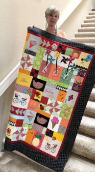 Kelly Rospond, President, Friday Quilters