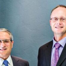 Drs. Richard Hess and Sven Sandeen of Hess & Sandeen Plastic Surgery.