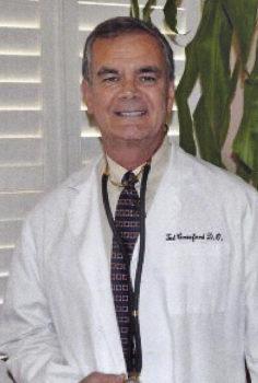 Guest speaker Dr. Ted Crawford