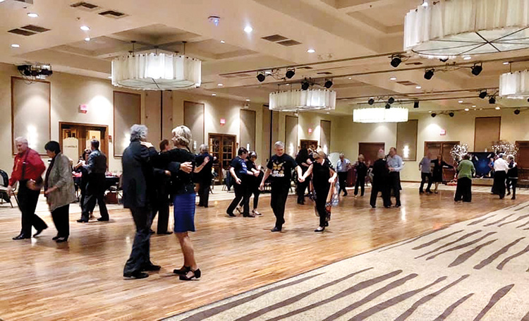 SBDC dance in the beautiful MountainView Ballroom (Photo by Sheila Honey)