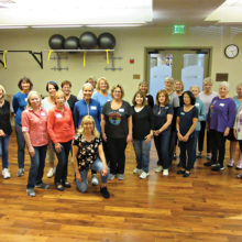 Thursday fun in Level 1 Line Dance was much more fun several weeks ago. We'll be returning soon but not soon enough.