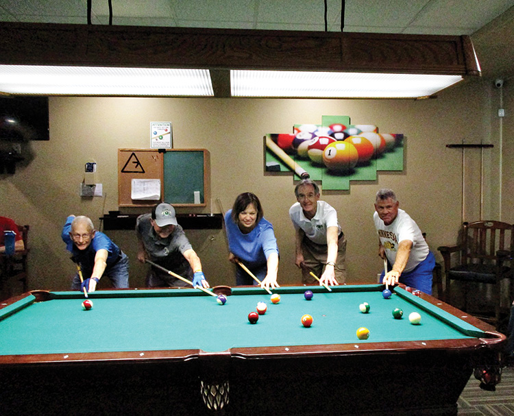 (Left to right) Bob Ogle, 1st place; Phelps L'Hommedieu, 3rd place; Julie Ferguson, 6th place and Top Lady; Randy Smith, 2nd place; Steve Searl, 4th place; not shown: Lowell Hegg, 5th place