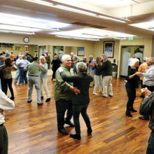 SBDC members enjoying a recent dance class (Photo by Diana Durham)
