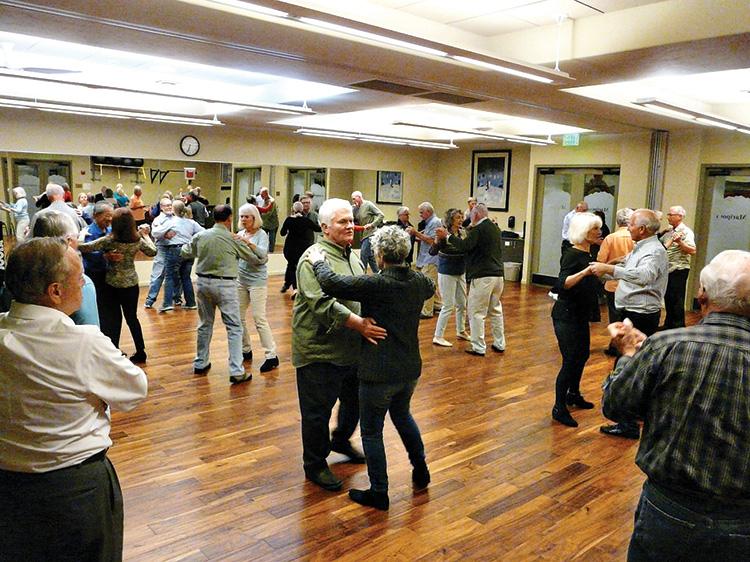 SBDC members enjoying a recent dance class (Photo by Diana Durham)