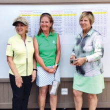 (From left) Kathy DeMerritt, Kay McCollom, and Barbara Turriff