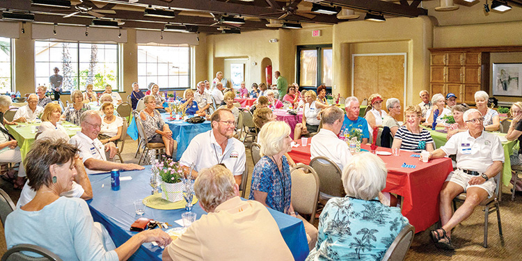 Senior Village hosts an annual volunteer appreciation event to acknowledge the selfless contributions of its 170 dedicated volunteers.