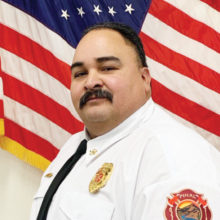 Bobby Apodaca, chief of Pinal Rural Fire District